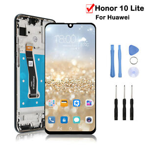 For Huawei Honor 10 Lite LCD Replacement Touch Screen Digitizer Display Frame