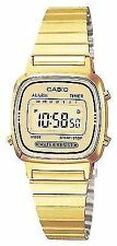 Casio Ladies Watch La670wega-9ef Collection Alarm Chronograph