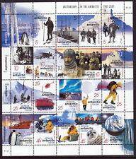 AAT 2001 Centenary of Australians in the Antarctic - sheet of 20