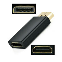 Portable Display Port DP Male To HDMI Female Adaptor Adapter Converter For HDTV