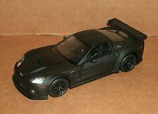 1/36 Scale 2010 Chevy Corvette C6-R Diecast Model Matt Black Race Car RMZ 555003