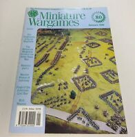 Miniature Wargames Number 80 January 1990 oop SC