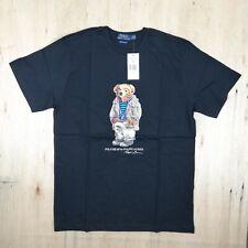 Polo Ralph Lauren BEAR LOGO Tee T SHIRT SHORT SLEEVE Tshirt Black