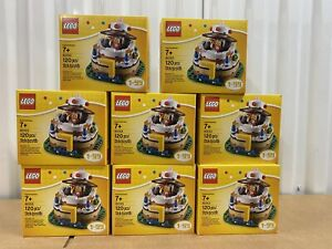 Lot Of 8 - LEGO 40153 - Birthday Table Decoration - NEW - SEALED - FREE SHIPPING