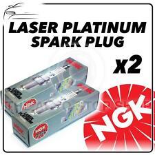 2x NGK SPARK PLUGS PART NUMBER pfr7z-tg STOCK NO. 5768 NUOVO PLATINO sparkplugs