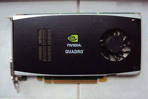 nVidia Quadro FX1800 Graphics Card - NO PCIE CABLES REQUIRED