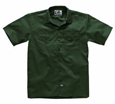 Camicie casual da uomo verde ampio