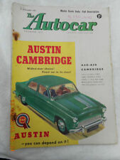The Autocar Cars, Pre-1960 Transportation Magazines