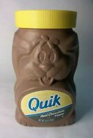 Nestle Quik Bunny Instant Drink Mix Container