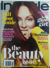 In Style Oct 2017 Julianne Moore You Glow Girl The Beauty Issue FREE SHIPPING sb