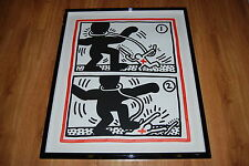 Keith Haring Untitled Free South Africa 3 Silkscreen Print Signed Numbered Art