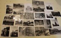1954 Army 23 Photos 240th Engineer Company Batt. Det. I Corps Korea Tanks Trucks