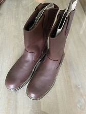 Wolverine Multishox Steel Toe Work Boots - Brown, Size 11.5
