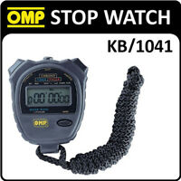 KB/1041 OMP RACING HANDHELD STOP WATCH CHRONOGRAPH for MOTORSPORT & RACING