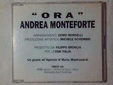 ANDREA MONTEFORTE Ora cd singolo PR0M0 DEMO MORSELLI