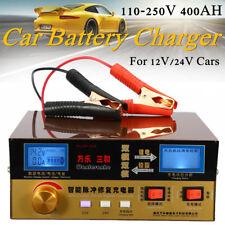 Carica batterie da auto 12V/24V 400AH impulsi intelligente automatico riparazion