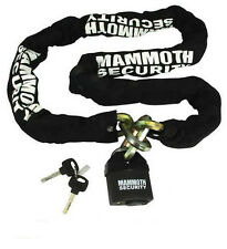 Moto me Mamut Motocicleta Seguridad 12mm hexagonal Candado Y Cadena De 1,8 M locmamss01