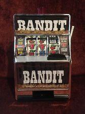 Bandit Slot Machine Savings Bank