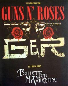 GUNS N' ROSES 2006 PROMO ADVERT UK CONCERT TOUR