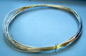 DIY SALE 14K Gold ( 585 ) Filled Craft Wire 0.5mm 3.3 metres Suasa Emas