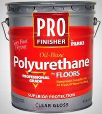 Rust-Oleum Parks 5 Gal. Clear Gloss Oil-Based Interior Polyurethane For Floors