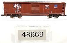 Z Scale Marklin Mini-Club 48669 Union Pacific 50' Box Car LNIB