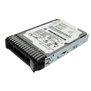 "IBM 1,2TB Festplatte 2.5"" 6Gb 10k SAS FRU: 00E9924 ST1200MM0007 mit Rahmen"