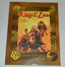WAY OF THE LION L5R Legend of the Five Rings AEG Lot5R Oriental