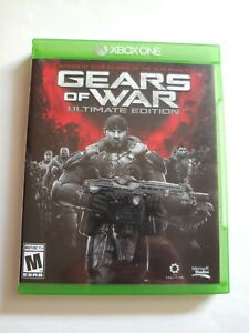 Gears of War: Ultimate Edition (Xbox One, 2015) + Logo Sticker Sheet