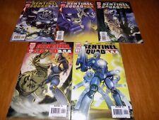 Sentinel Squad One 1-5 - QuickSilver - Complete limited series, X-Men, Dr.Doom