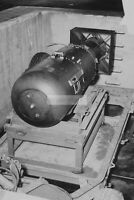 """WWII photo The atomic bomb """"Kid"""" is on a trailer 1200"""