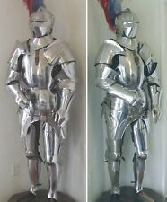COLLECTIBLES Medieval Knight Suit of Armor, 15th Century Combat Full Body Armour