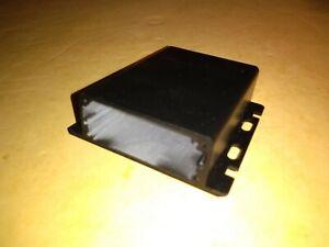 "Aluminum project box enclosure case DIY electronic 3.5x2.5x1"" black 1/16"" thick"