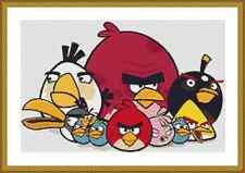 Angry Birds Cross Stitch Kit