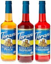 Torani 750 mL Sugar Free Flavoring Syrup 25.4 oz (select flavor)
