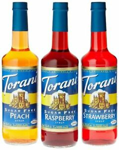 Torani 750 mL Sugar Free Flavoring Syrup 25.4 oz (select flavor)