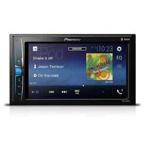 """Pioneer MVH-A210VBT 6.2"""" TouchScreen Bluetooth Car Stereo with USB Aux"""