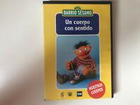 BARRIO SESAMO DVD UN CUERPO CON SENTIDO NUESTROS CUERPOS