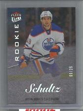 2013-14 Showcase Hockey Justin Schultz Ultra Rookie Card # 9/25