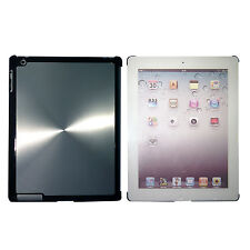 iPad 3 Silver Quality Shining Aluminium Hard Back Case Cover for Elegant Look