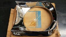 NOS l/h Ford 1964 1965 1966 Mustang Headlight Lamp Door nos chrome rare