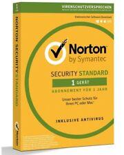 Norton Security Standard 2020 1 Gerät 1 Jahr / 12 Monate Lizenzschlüssel