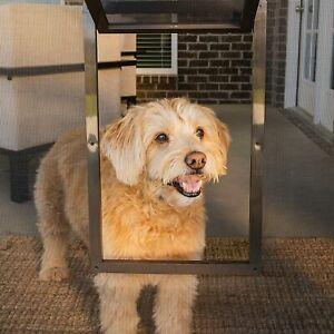 PetSafe Pet Screen Door, Dog and Cat Door for Screen Door, Window and Porch Use