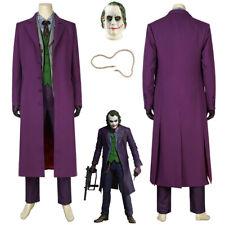 Joker Coat Costume Cosplay Batman The Dark Knight Rises Ver.1