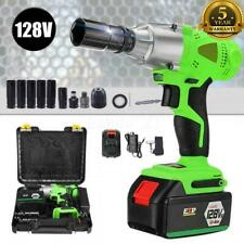 12 Cordless Electric Impact Wrench Rattle Nut Gun Tools With Li Ion Battery