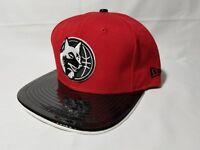Official NBA HWC Minnesota Timberwolves New Era 59Fifty Red Black Hat Snapback