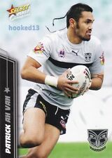 2007 NRL Select Champions New Zealand Warriors COMPLETE team set