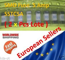2x Unit - 5 Amp SMD Fuse SSTC5A Other Fuse 1808 Marking 5A - Fast Ship