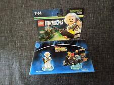 LEGO DIMENSIONS 71230-  REGRESO AL FUTURO  FUN PACK-  NUEVO EN CAJA