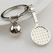 Creative Funny Sport Tennis Car Metal Key Fob Keychain Keyring Key Chain Gifts